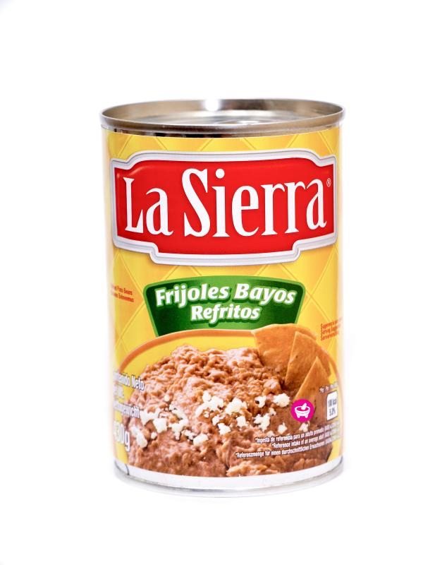 Bönröra av bruna ¨pinto/bayo¨ bönor, La Sierra, 430 g