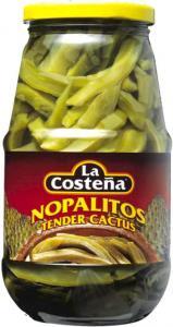 Nopalitos Kaktusblad i Skivor La Costeña