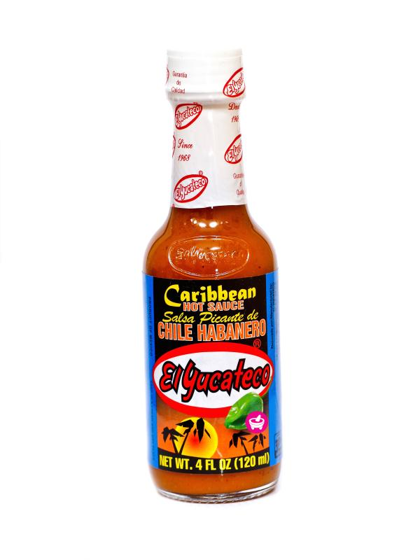 Caribean Hot Sås, El Yucateco, 120ml