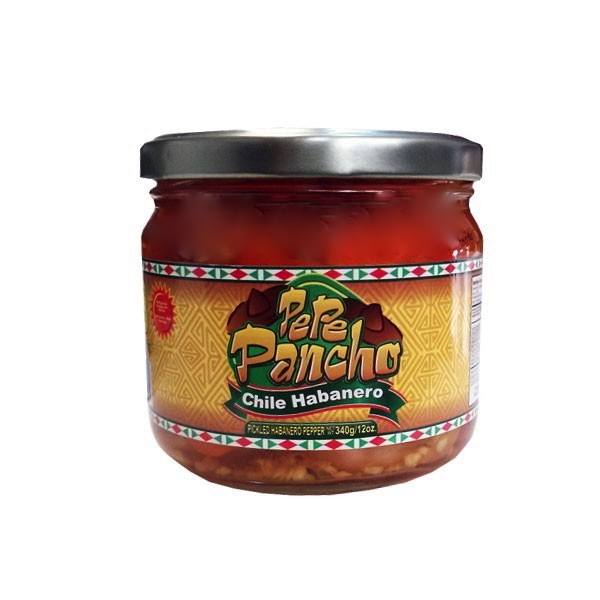 Inlagda Habanero (pickled habanero peppers) Pepe Pancho