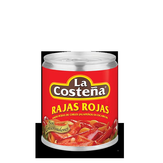 Skivade Röda Jalapenos Chili La Costena