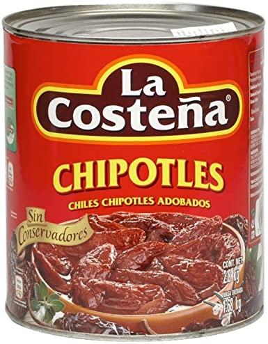Chipotles i adobo sås, La Costena, 2,8 kg