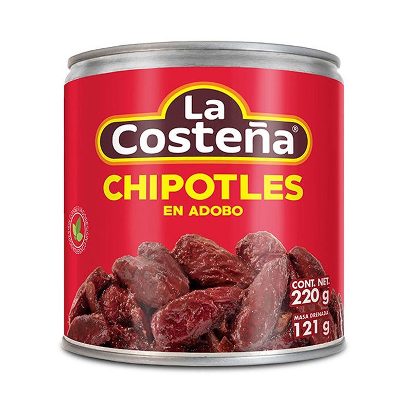 Chipotles i adobo sås, La Costena, 220 g