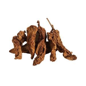 Torkade Chipotle kommer från mänd jalapeno peppar