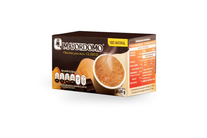 Choklad MAYORDOMO 500g (4 tablillas/bars av 125 g)