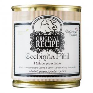 Cocinita pibil, långsamt rostad fläskkött