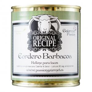 Cordero barbacoa, benfritt lammstek