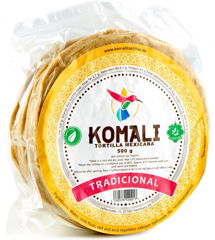 Majstortilla Komali, 15cm i diameter