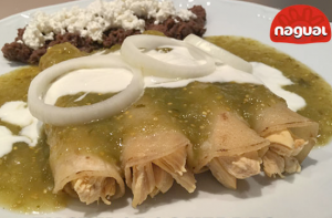 Gröna enchiladas