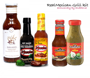 The RealMexican Grill kit