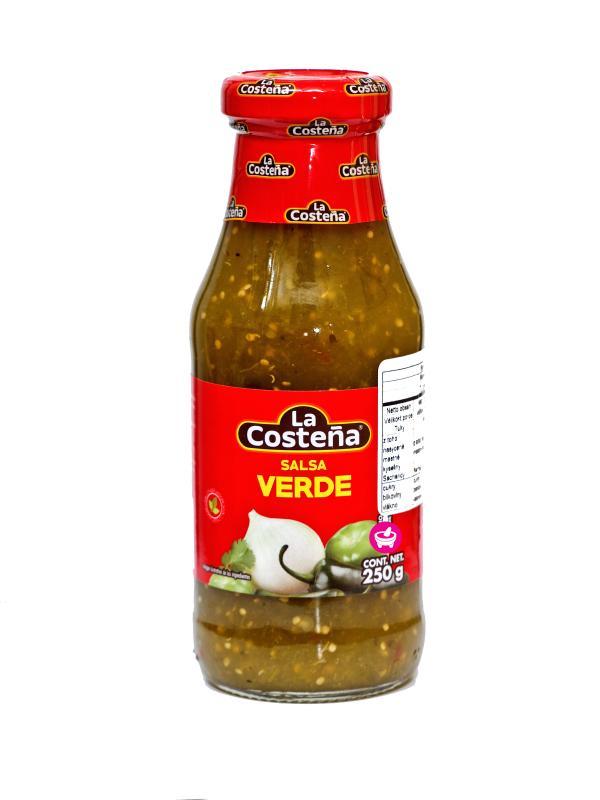 Klassisk Grön Sås (tomatillo), La Costeña 250ml