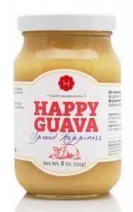 Happy Guava marmelad med organisk agave sirap, 235 g