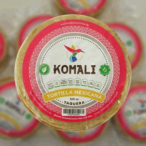 Majstortilla Komali, 12cm i diameter