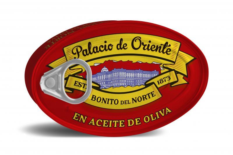 Vit Bonito tonfisk i olivolja, 115 gr