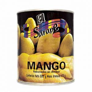 Mango i skivor, El Sarape, 800 g