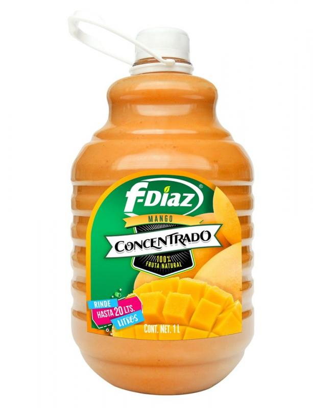 Mexikansk Mango saft, 1 l, F-Diaz
