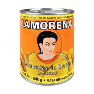 Mango i skivor, La Morena, 840 g