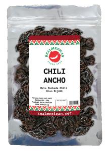 Torkade Ancho chili, RealMexican, 50 g