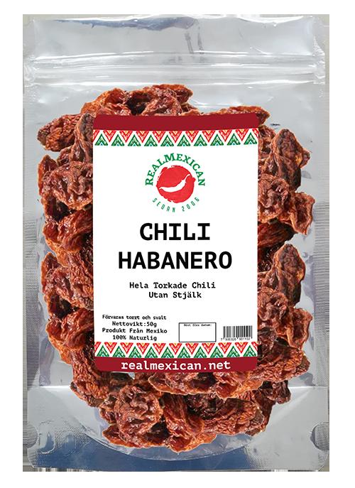 Torkade Habanero, RealMexican, 50g