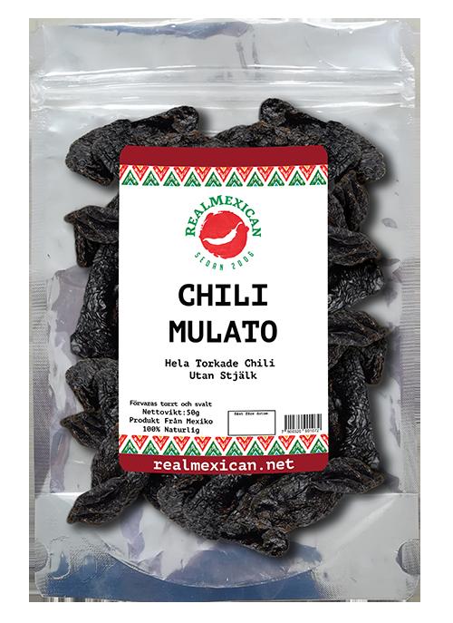 Chile Mulato, RealMexican, 50 g