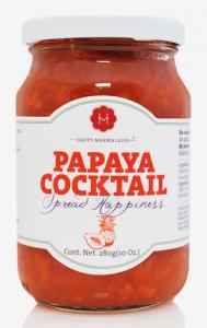 Happy Papaya marmelad med organisk agave sirap, 235 g