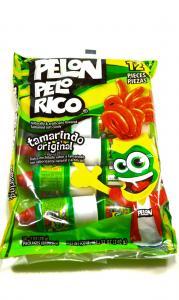 Pelon Pelo Rico, tamarindo godis, 12 st