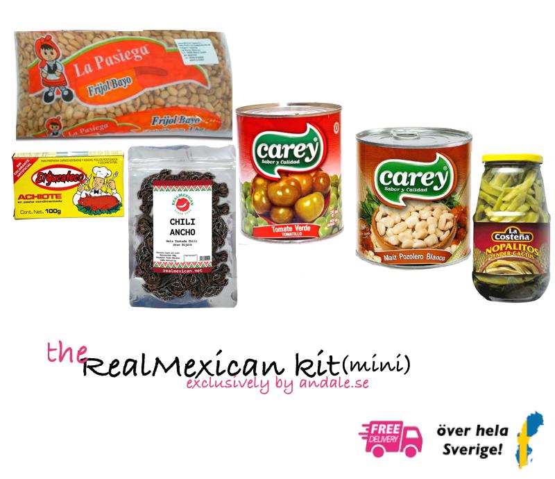 RealMexican mini kit, fri frakt!