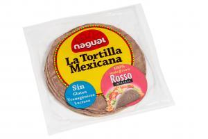 Rosso Majstortilllas för Mexikanska tacos,  15cm. Fullkorn
