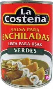 Grön enchilada sås