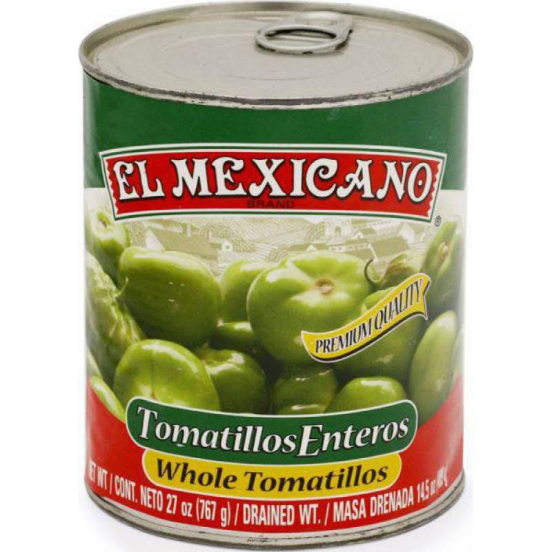 Hela Tomatillos 767 g , El Mexicano