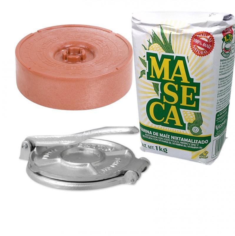 Tortilla kit för att gora dina egna majstortillas