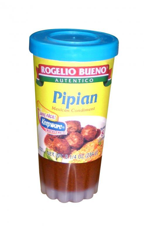 Pipian är en mexikansk sås från pumpa frön och chili