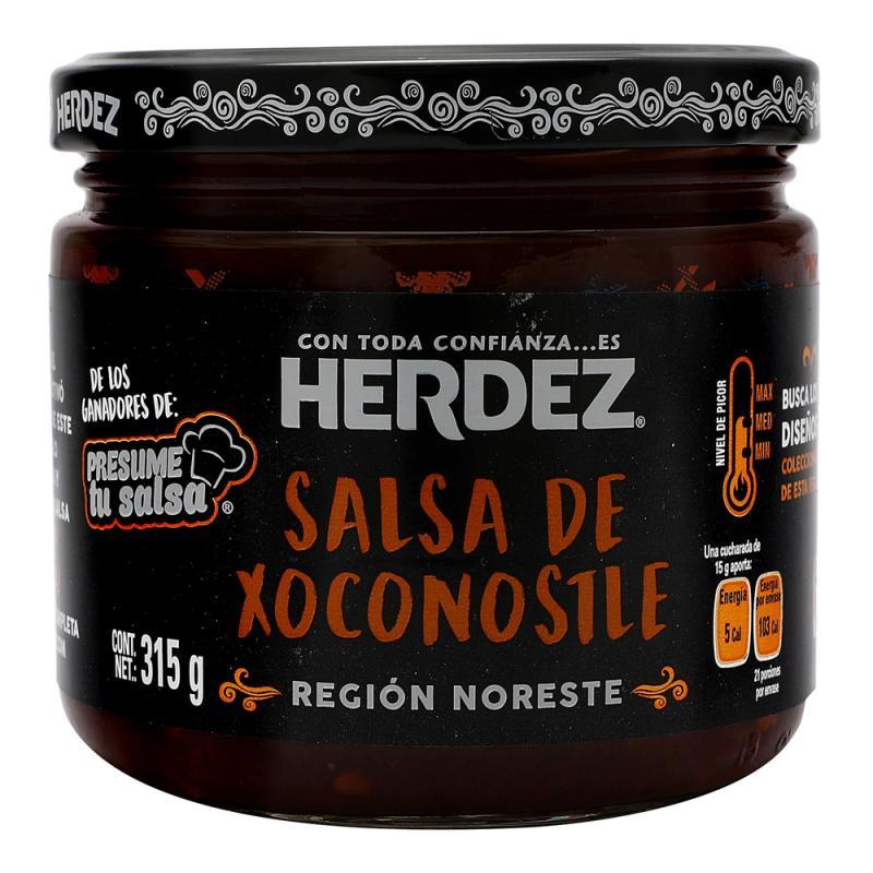 Xoconostle sås, Herdez 315gr