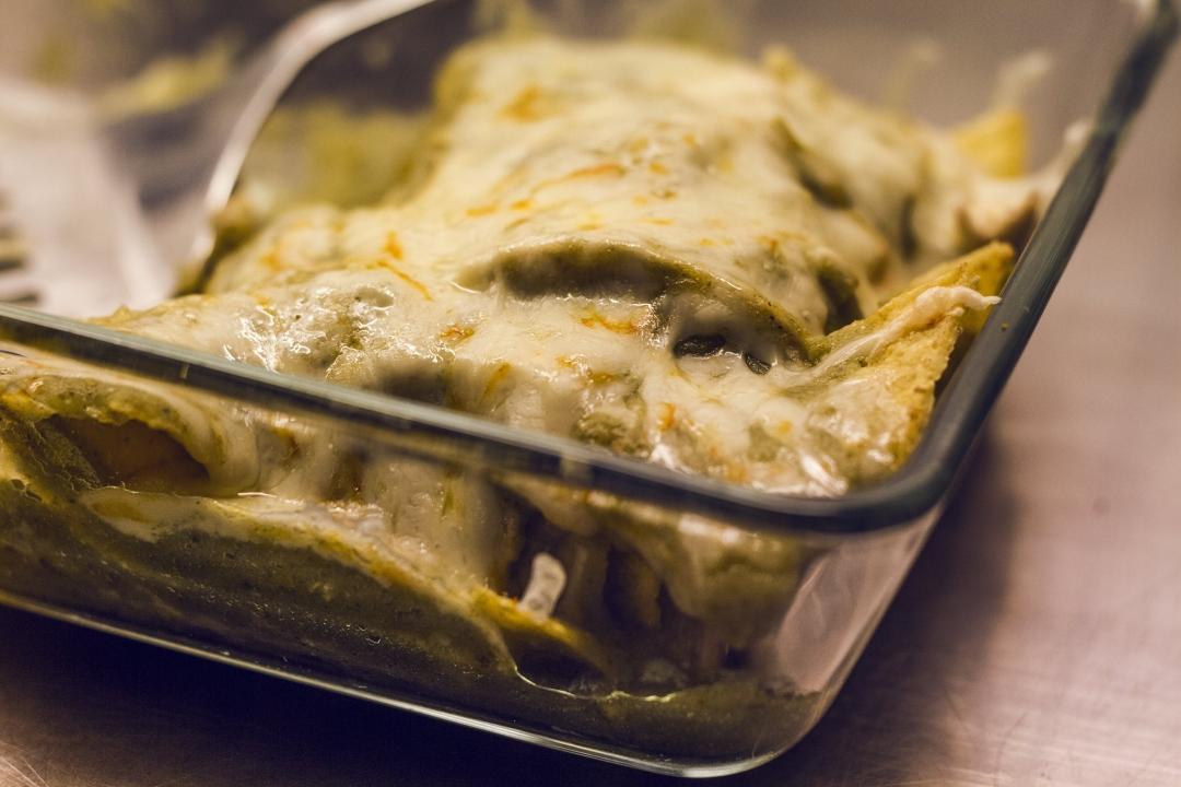 Chilaquiles horneados