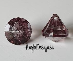 """Prisma liten """"Änglakropp"""" grå i acryl 1st"""