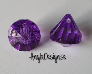 "Prisma liten ""Änglakropp"" lila i acryl 1st"