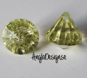 "Prisma liten ""Änglakropp"" limegrön i acryl 1st"