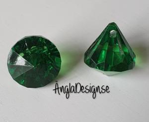 """Prisma liten """"Änglakropp"""" mörk grön i acryl 1st"""