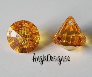 "Prisma liten ""Änglakropp"" orange i acryl 1st"