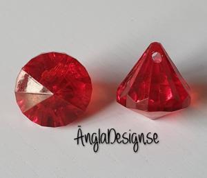 "Prisma liten ""Änglakropp"" röd i acryl 1st"