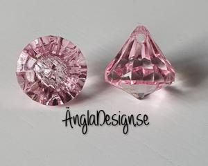 """Prisma liten """"Änglakropp"""" rosa i acryl 1st"""