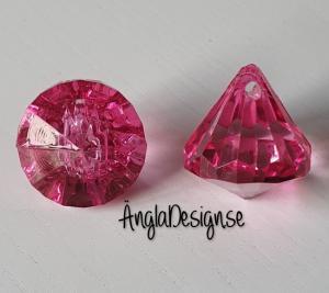 """Prisma liten """"Änglakropp"""" stark rosa i acryl 1st"""