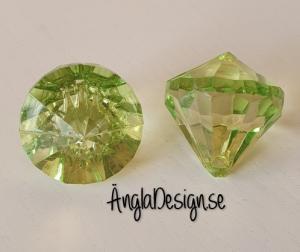 "Prisma mellan ""Änglakropp"" grön i acryl 1st"