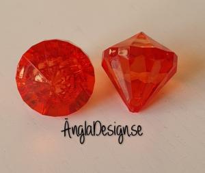 """Prisma mellan """"Änglakropp"""" röd i acryl 1st"""