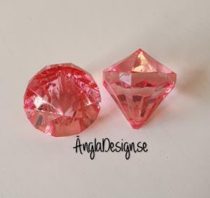 "Prisma mellan ""Änglakropp"" rosa i acryl 1st"