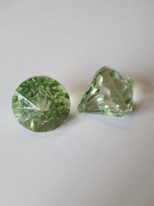 """Prisma stor """"Änglakropp"""" grön i acryl 1st"""