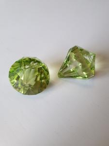 "Prisma stor ""Änglakropp"" olivgrön i acryl 1st"