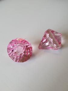 "Prisma stor ""Änglakropp"" rosa i acryl 1st"