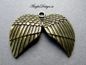 Hänge stora änglavingar, brons, 1st