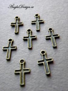 Berlock minikors, brons, 10-pack
